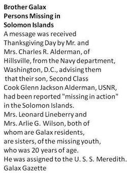 Glenn Jackson Alderman