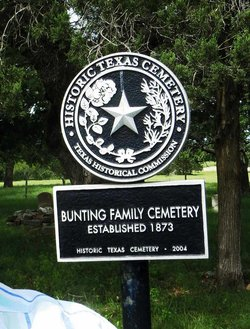 Bunting Family Cemetery