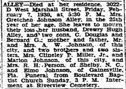 Gretchen <i>Johnson</i> Alley