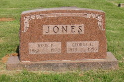 Joseph Pumphrey Josie <i>Parrish</i> Jones