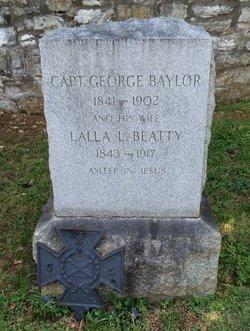 Capt George Baylor