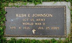 Rush E Johnson