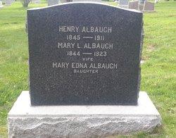 Mary <i>Longenecker</i> Albaugh