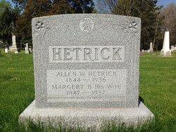 Rev Allan W Hetrick