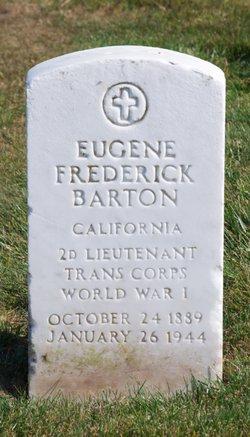 Eugene Frederick Barton