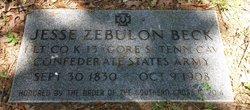 Jesse Zebulon Beck