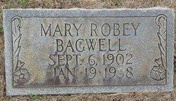Mary <i>Robey</i> Bagwell