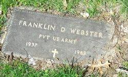 Franklin D. Webster