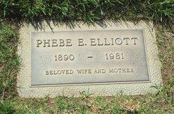 Phebe Edna <i>Prescott</i> Elliott