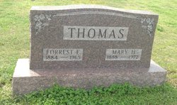 Mary <i>Henderson</i> Thomas