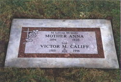 Anna Marie Annie <i>Stutz</i> Califf