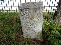 Prudence <i>Walker</i> Hall