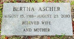 Bertha Ascher