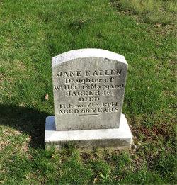 Jane F. <i>Jagger</i> Allen