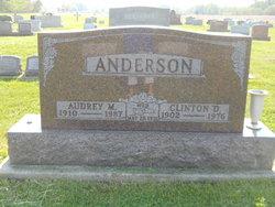 Audrey M. <i>Davis</i> Anderson