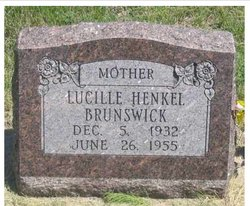 Lucille Pauline <i>Henkel</i> Brunswick