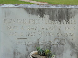 Eliza <i>Hall</i> Price