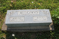 Martha Adeline <i>Hendricks</i> Allgood