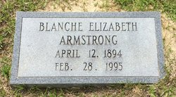 Blanche Elizabeth <i>Ridenour</i> Armstrong