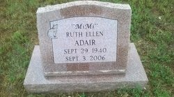 Ruth Ellen <i>Needham</i> Adair