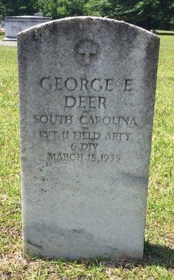 Pvt George E. Deer