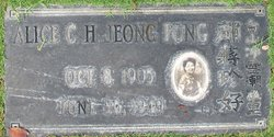 Alice Jeong Fong