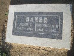 Drucilla Hariette <i>Bouldin</i> Baker