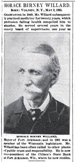 Dr Horace B Willard