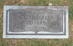 Mattie Green <i>Norman</i> Clinard