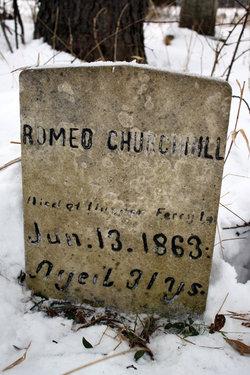 Romeo Churchill