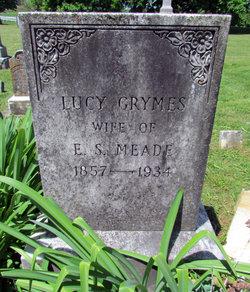 Lucy Fitzhugh <i>Grymes</i> Meade