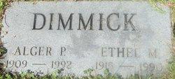 Alger Dimmick