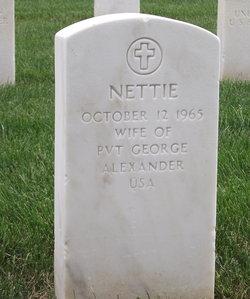 Nettie Alexander