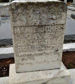 Mamie <i>Jones</i> Davis