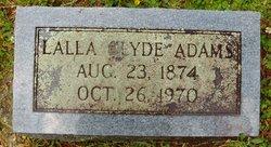 Lalla <i>Clyde</i> Adams