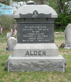Abigail D <i>Clark</i> Alden