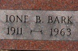 Ione B. <i>Bark</i> McCaughey