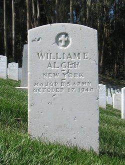 Maj William Edwin Alger