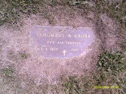 Pvt Columbus R Grubb