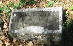 Alma Bertha <i>Peters</i> Tabor