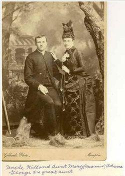 Mary  Eliza Marie <i>Witt</i> Adams
