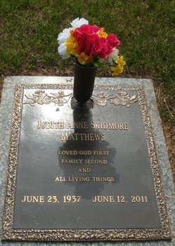Judith Anne <i>Skidmore</i> Matthews