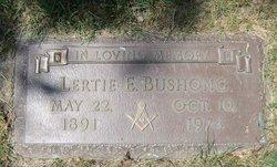 Elmer Lertie Bushong