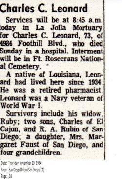 Charles Clarence Leonard