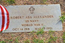 Robert Asa Alexander