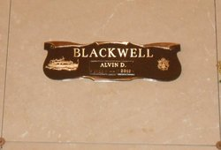Alvin David Blackwell