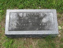 Martha Mattie <i>Parrish</i> Arnold