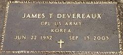 Corp James Thomas Devereaux