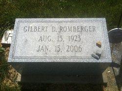 Lieut Gilbert Daniel Romberger