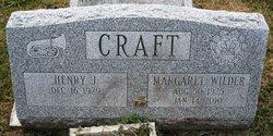 Margaret Sissie Elizabeth <i>Wilder</i> Craft
